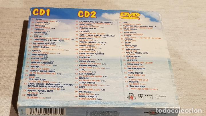 CDs de Música: CARIBE 2003 / HASIENDO EL AMOR / DOBLE CD + DVD / VARIOS ARTISTAS / TOTAL 58 TEMAS / DE LUJO. - Foto 5 - 186294945