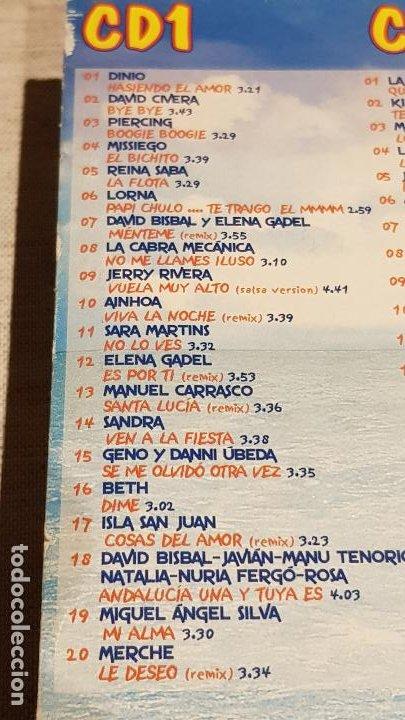 CDs de Música: CARIBE 2003 / HASIENDO EL AMOR / DOBLE CD + DVD / VARIOS ARTISTAS / TOTAL 58 TEMAS / DE LUJO. - Foto 6 - 186294945