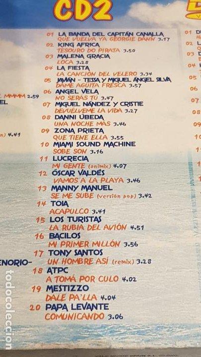 CDs de Música: CARIBE 2003 / HASIENDO EL AMOR / DOBLE CD + DVD / VARIOS ARTISTAS / TOTAL 58 TEMAS / DE LUJO. - Foto 7 - 186294945