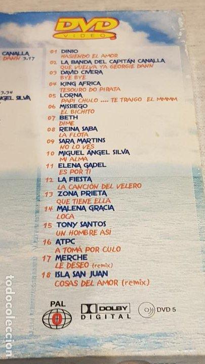 CDs de Música: CARIBE 2003 / HASIENDO EL AMOR / DOBLE CD + DVD / VARIOS ARTISTAS / TOTAL 58 TEMAS / DE LUJO. - Foto 8 - 186294945
