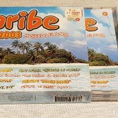 CDs de Música: CARIBE 2003 / HASIENDO EL AMOR / DOBLE CD + DVD / VARIOS ARTISTAS / TOTAL 58 TEMAS / DE LUJO.. Lote 186294945