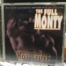 CDs de Música: THE FULL MONTY PERFORMED BY HOT STUFF CD 1998 PEPETO. Lote 186303740