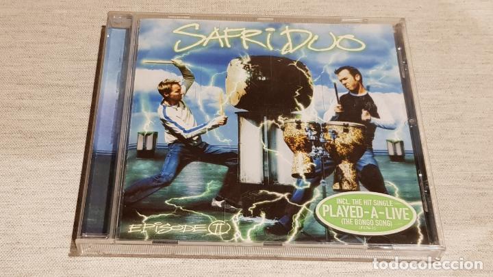 SAFRI DUO / EPISODE II / CD - 9 TEMAS / CALIDAD LUJO. (Música - CD's Disco y Dance)