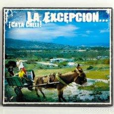 CDs de Música: CD PROMO LA EXCEPCIÓN – ¡CATA CHELI! - SPAIN 2003 – ZONA BRUTA- COMO NUEVO. Lote 186320357
