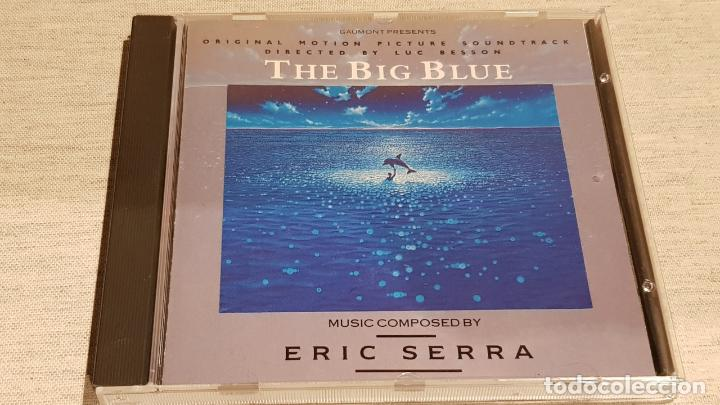 B.S.O. / THE BIG BLUE / ERIC SERRA / CD - VIRGIN-1988 / 20 TEMAS / CALIDAD LUJO. (Música - CD's Bandas Sonoras)