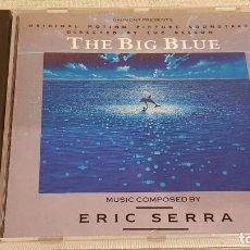 CDs de Música: B.S.O. / THE BIG BLUE / ERIC SERRA / CD - VIRGIN-1988 / 20 TEMAS / CALIDAD LUJO.. Lote 186324847