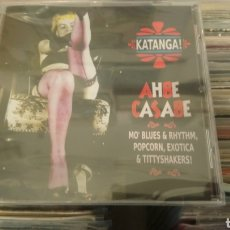 CDs de Música:  KATANGA! AHBE CASABE: EXOTIC BLUES & RHYTHM VOL. 1 & 2 . CD PRECINTADO.. Lote 186330156