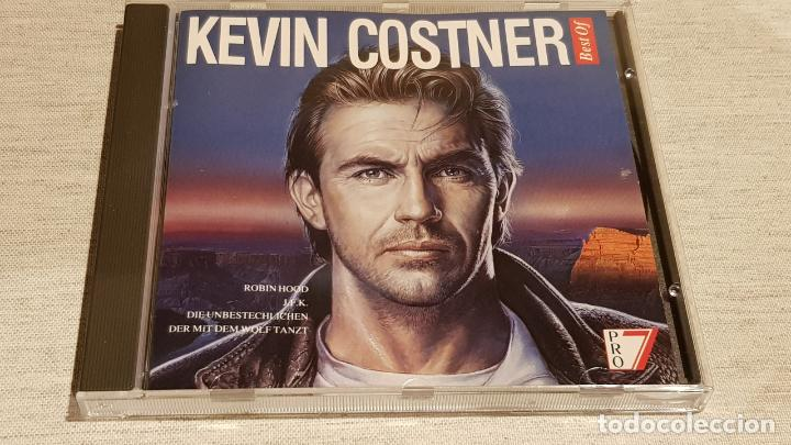 KEVIN COSTNER / BEST OF / CD - SILVA SCREEN-1992 / 10 TEMAS / CALIDAD LUJO. (Música - CD's Melódica )