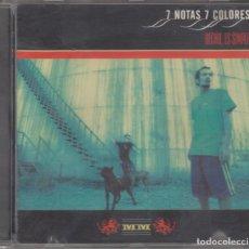 CDs de Música: 7 NOTAS 7 COLORES CD HECHO ES SIMPLE 1997 LA MADRE PRIMERA EDICIÓN. Lote 186340692