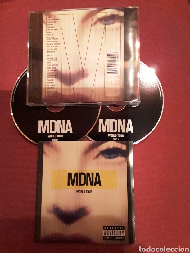 MADONNA: MDNA WORLD TOUR; 2CD'S LIVE 2013. (Música - CD's Rock)