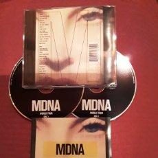 CDs de Música: MADONNA: MDNA WORLD TOUR; 2CD'S LIVE 2013.. Lote 186343883