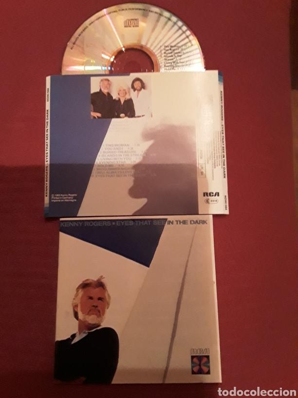 KENNY ROGERS: EYES THAT SEE IN THE DARK; CD AOR 1983 RCA, BEE GEES. (Música - CD's Rock)