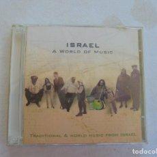 CDs de Música: ISRAEL A WORLD OF MUSIC , 2 CD . Lote 186361560