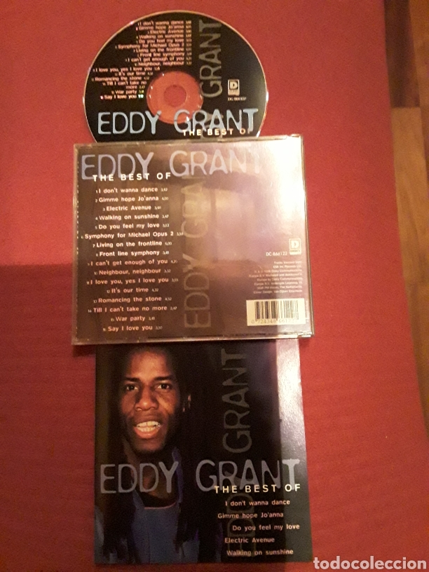 EDDY GRANT: THE BEST OF; CD 1996 EMI. (Música - CD's Reggae)