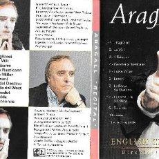 CDs de Música: JAUME ARAGALL - RECITAL. Lote 186364805