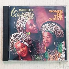 CDs de Música: MAHOTELLA QUEENS - WOMEN OF THE WORLD (CD MUSIC). Lote 186373673