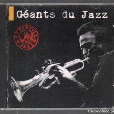 CDs de Música: GEANTS DU JAZZ - ESSENTIEL JAZZ / CD DE 1994 RF-3442 . Lote 186388286