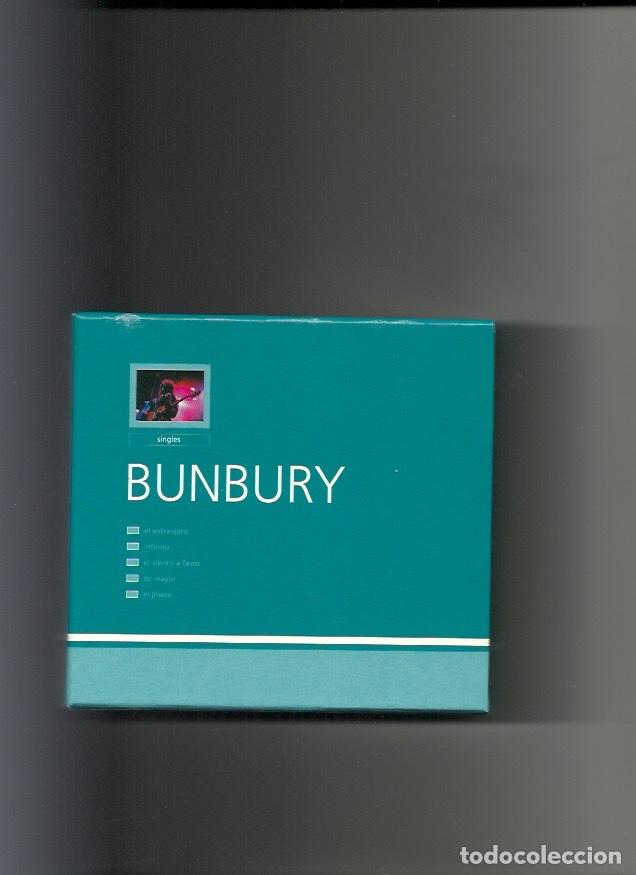 BUNBURY. SINGLES (BOX - SET 1999) (Música - CD's Rock)