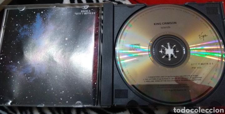 CDs de Música: King crimson - Islands - Foto 3 - 186442833
