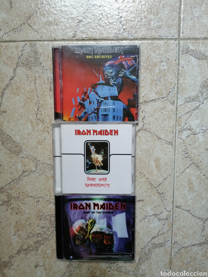 IRON MAIDEN. EDDIE ARCHIVES. (Música - CD's Heavy Metal)
