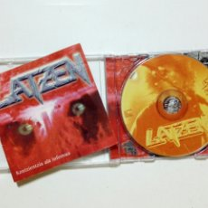 CDs de Música: CD: LATZEN - KONTZIENTZIA ALA INFERNUA (OHIUKA, 1996) - HEAVY METAL VASCO - EUSKERA -. Lote 186455951