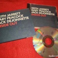 CDs de Música: KEITH JARRETT GARY PEACOCK JACK DEJOHNETTE INSIDE OUT CD 2001 GERMANY. Lote 186456490