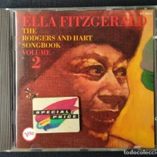 CDs de Música: CD 1985 USA POLYGRAM RECORDS ELLA FITZGERALD. Lote 186551746
