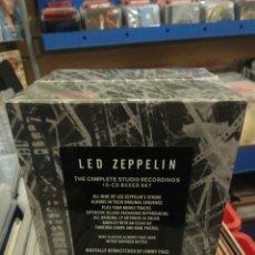 CDs de Música: LED ZEPPELIN - THE COMPLETE STUDIO RECORDINGS 10 CD BOX. Lote 173924199