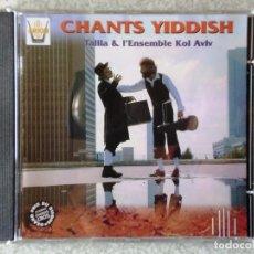 CDs de Música: CANTOS JUDIOS.TALILA & L´ENSEMBLE KOL AVIV. Lote 187082032
