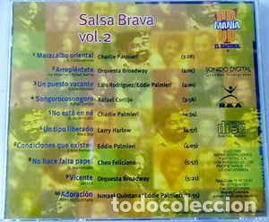 CDs de Música: Various – Salsa Brava Vol. 2 - Foto 2 - 187120042