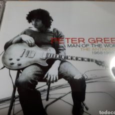 CDs de Música: PETER GREEN MAN OF THE WORLD THE ANTOLOGY 1968-1988 DOBLE CD. Lote 187120716