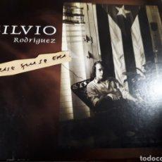 CDs de Música: SILVIO RODRIGUEZ ERASE QUE SE ERA DOBLE CD. Lote 187128205