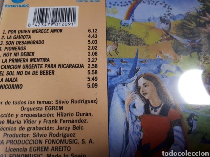CDs de Música: SILVIO RODRIGUEZ UNICORNIO - Foto 2 - 187128293