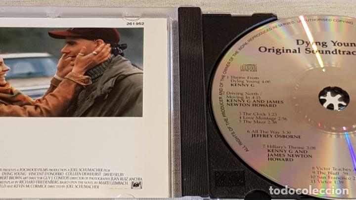 CDs de Música: B.S.O. / DYING YOUNG ( ELEGIR UN AMOR ) MUSIC JAMES NEWTON HOWARD / KENNY G / DE LUJO. - Foto 2 - 187166241