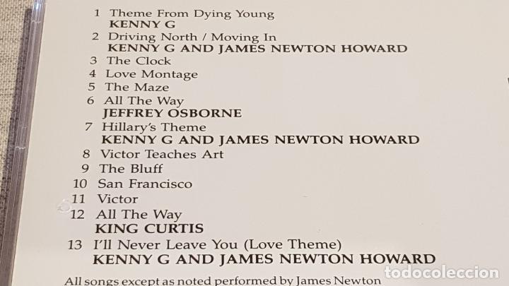 CDs de Música: B.S.O. / DYING YOUNG ( ELEGIR UN AMOR ) MUSIC JAMES NEWTON HOWARD / KENNY G / DE LUJO. - Foto 4 - 187166241