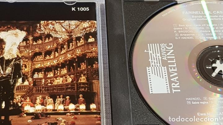 CDs de Música: B.S.O. / FARINELLI IL CASTRATO / CHRISTOPHE ROUSSET / CD - AUDIVIS-1994 / 11 TEMAS / DE LUJO. - Foto 2 - 187170005