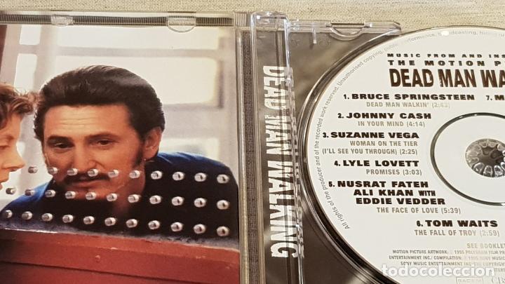 CDs de Música: B.S.O. / DEAD MAN WALKING / VARIOS ARTISTAS / CD - CBS-SONY / 12 TEMAS / CALIDAD LUJO. - Foto 2 - 187173275