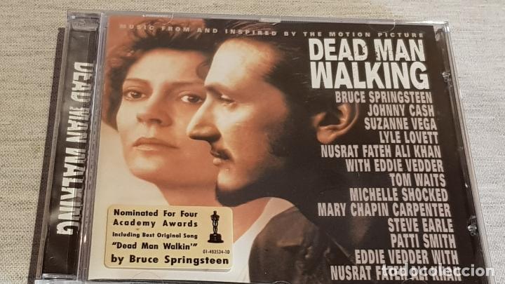 B.S.O. / DEAD MAN WALKING / VARIOS ARTISTAS / CD - CBS-SONY / 12 TEMAS / CALIDAD LUJO. (Música - CD's Bandas Sonoras)