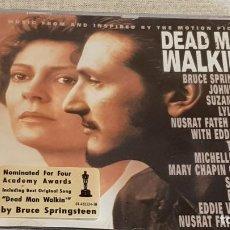 CDs de Música: B.S.O. / DEAD MAN WALKING / VARIOS ARTISTAS / CD - CBS-SONY / 12 TEMAS / CALIDAD LUJO.. Lote 187173275