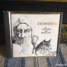 CDs de Música: TRISKEL - O CHAPEU DE MERLIN / ALBUM CD (FOLK GALIZIA ) AÑO 1992 M - M. Lote 187178863