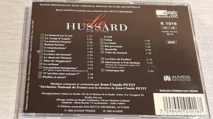 CDs de Música: B.S.O. / LE HUSSARD SUR LE TOIT / JEAN-CLAUDE PETIT / CD - AUDIVIS / 21 TEMAS / DE LUJO. - Foto 3 - 187203168