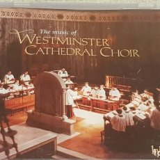 CDs de Música: THE MUSIC OF WESTMINSTER CATHEDRAL CHOIR / CD - HYPERION RECORDS / CALIDAD LUJO.. Lote 187205203