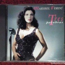 CDs de Música: MARIBEL VERDU (TRES PALABRAS) CD 1993. Lote 187216645