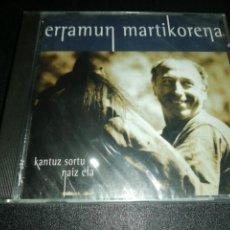 CDs de Música: ERRAMUN MARTIKORENA, KANTUZ SORTU NAIZ ETA. Lote 187230900