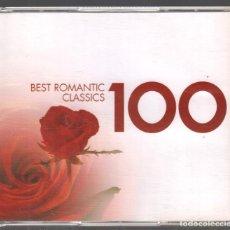 CDs de Música: BEST ROMANTIC CLASSICS 100 - 4 CDS DE 2007 RF-3497 , BUEN ESTADO. Lote 187237550