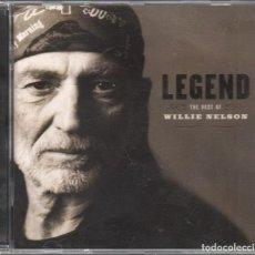 CDs de Música: LEGEND - THE BEST OF WILLIE NELSON / CD ALBUM DE 2008 RF-3509 , BUEN ESTADO. Lote 187300408