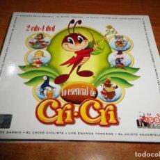 CDs de Música: FRANCISCO GABILONDO SOLER LO ESENCIAL DE CRI-CRI 2 CD + DVD DIGIPACK 2007 MEXICO MUSICA INFANTIL. Lote 187310886