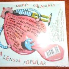 CDs de Música: CD ANDRES CALAMARO. Lote 187313457