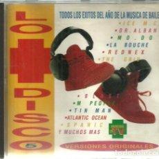 CD de Música: CD LO MAS DISCO 5 - VERSIONES ORIGINALES - 1994. Lote 187315618