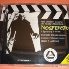 CDs de Música: NOSFERATU / ORIGINAL SOUNDTRACK / BANDA SONORA / PELÍCULA DE F. W. MURNAU / BSO / CD. Lote 187326330